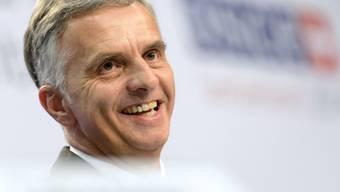Kann zufrieden sein mit dem Schweizer Vorsitzjahr: Burkhalter
