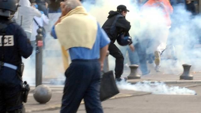 Ausschreitungen in Marseille