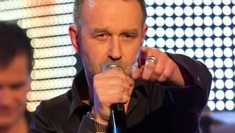 Sänger Kuno Lauener (Archiv)