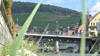 Seit 2006 ist die Schiefe Brücke zwischen Baden und Ennetbaden für den motorisierten Individualverkehr gesperrt.