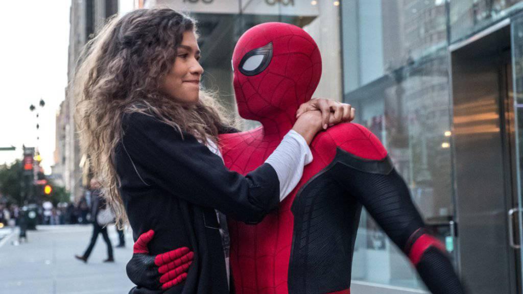 """Die Comic-Verfilmung """"Spider-Man: Far From Home"""" hat am Wochenende vom 4. bis 7. Juli 2019 am meisten Zuschauer in die Schweizer Kinos gelockt. (Archiv)"""