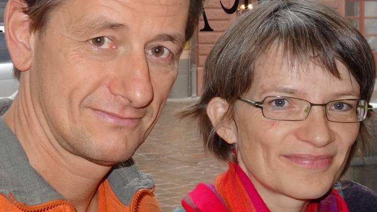 Ursula und Marcel Hauri engagieren sich für Hilfsprojekte in Kenia. ach