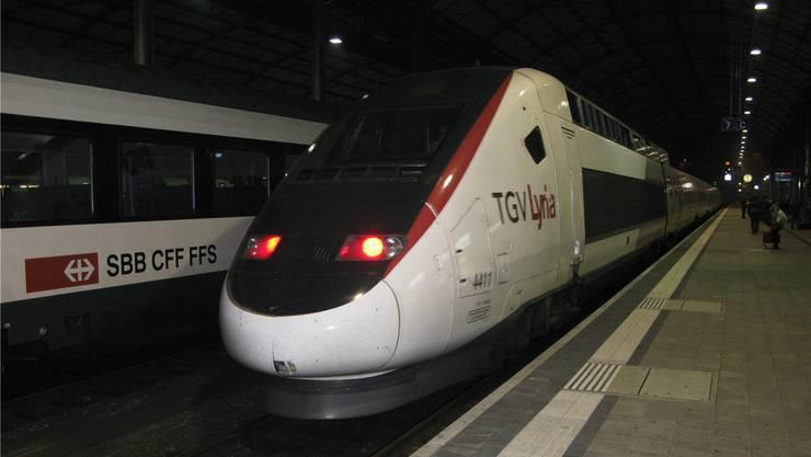 Der TGV fährt mit dem Fahrplanwechsel nicht mehr über Olten. (Archiv)