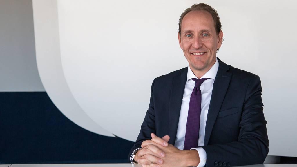 Schweizer übernimmt das Ruder: Dieter Vranckxwird neuer Chef bei der Swiss