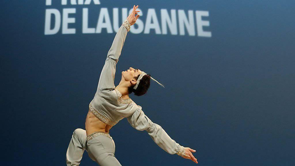 Michele Esposito überzeugte die Jury und gewann den 45. Prix de Lausanne.