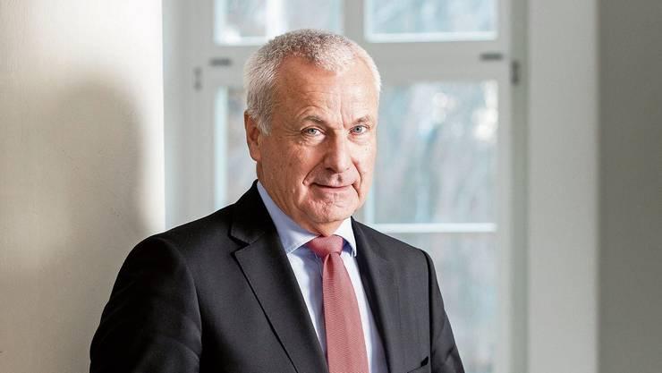 KSA-Verwaltungsratspräsident Peter Suter.