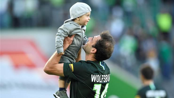 Admir Mehmedi: Was gibt es Schöneres, als einen Sieg zusammen mit dem Sohn zu feiern?