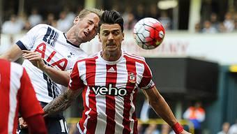 Tottenham Hotspur mit Toptorschütze Harry Kane (links) musste gegen Southampton einen Rückschlag hinnehmen