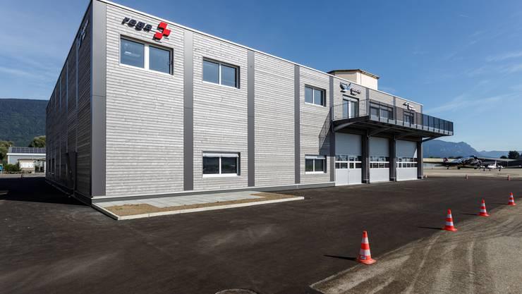 Das neue Mehrzweckgebäude am Flughafen Grenchen