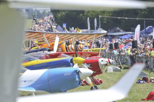Die 30. Dittinger Flugtage feierten auch 100 Jahre Luftfahrt im Laufental.