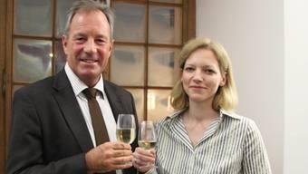 Urs Hoppler und Barbara Loppacher.
