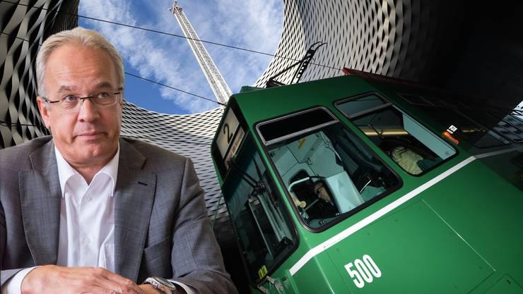 Erich Lagler im freien Fall: Der Direktor der Basler Verkehrs-Betriebe soll den Posten räumen, fordert die Basler Geschäftsprüfungskommission.