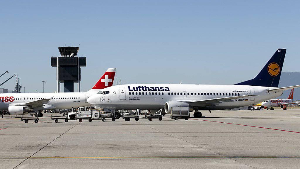 Der Swiss-Mutterkonzern Lufthansa litt zum Jahresauftakt unter hohen Treibstoffkosten, Überkapazitäten und Preisdruck. (Archiv)