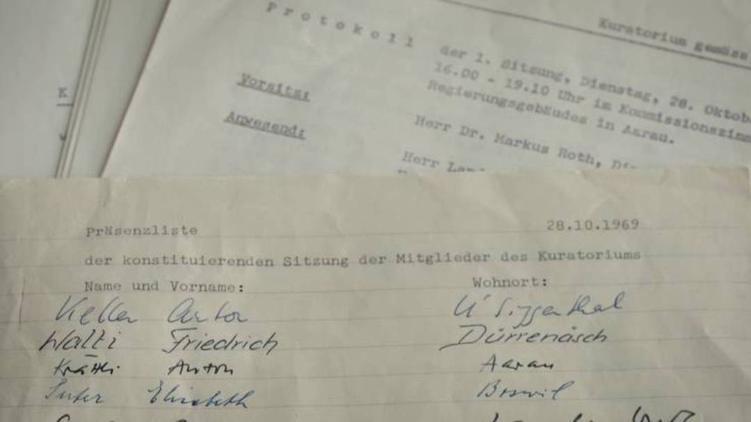 So kam der Aargau zu seinem Kulturgesetz – und dem bis heute umstrittenen Kuratorium