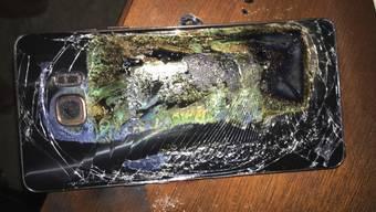 Es war der Akku: Samsung-Untersuchung zu Galaxy-Handy Note 7 veröffentlicht