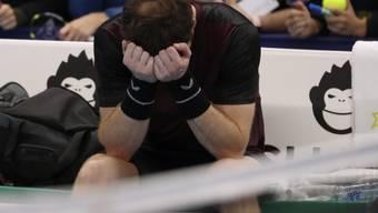 Andy Murray wird von seinen Emotionen übermannt