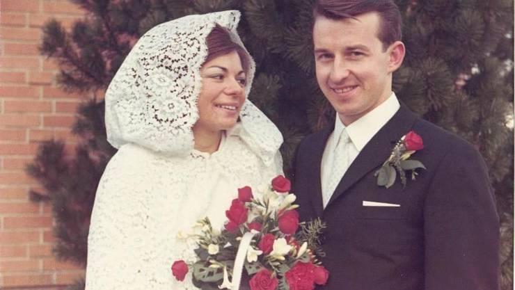 Elsbeth und Peter Karpf-Schmid am 29. November 1969