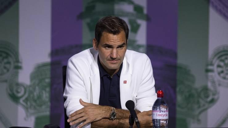 Zermürbt von den politischen Diskussionen: Roger Federer