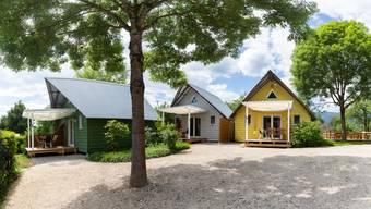 Campingplatz und Badmeister-Lounge in Solothurn nach Corona-Lockdown