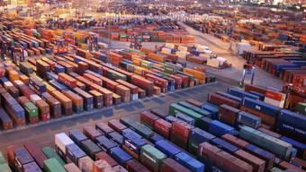 Die USA hat im letzten Jahr mehr importiert als exportiert (Symbolbild)