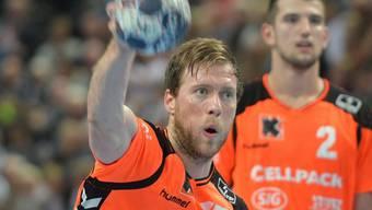 Gabor Csaszar schoss die Kadetten zum Sieg