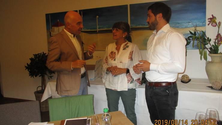 Daniel Jositsch, Kathrin Scholl und Cédric Wermuth