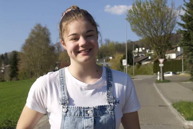 Die 15-jährige Nora Snedkerud aus Widen.