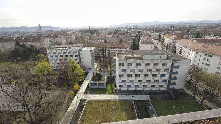 Auf dem Areal des Felix-Platter-Spitals sollen Wohnungen für bis zu 1000 Personen gebaut werden.