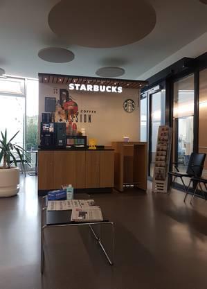 Die Kaffee-Ecke im Spital Muri