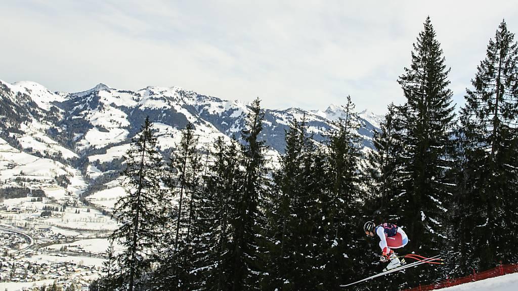 Abfahrt in Kitzbühel auf Sonntag verschoben