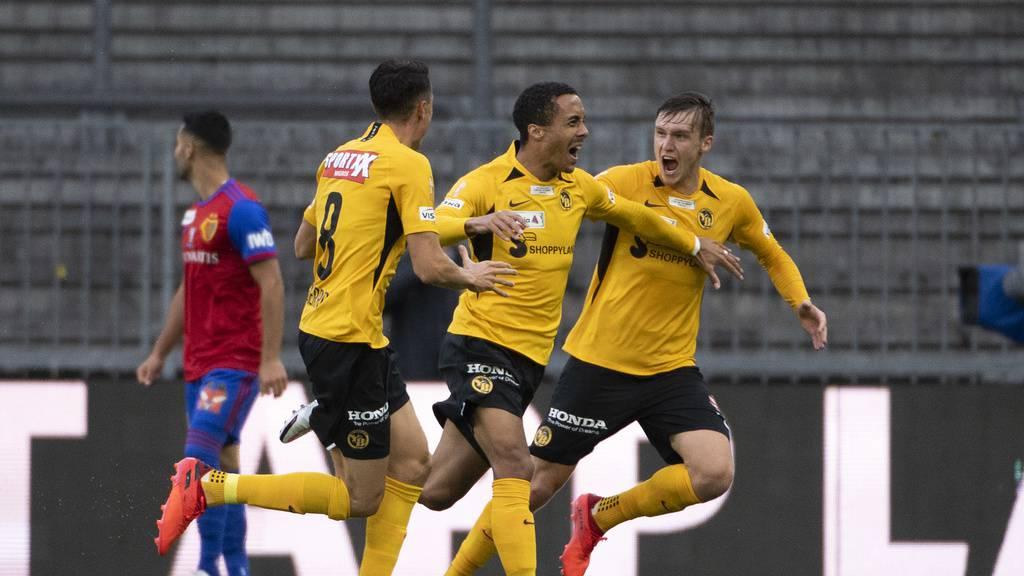 Cup-Final Young Boys gegen FC Basel
