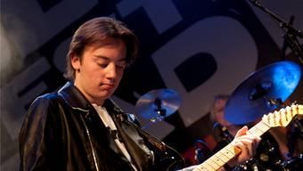 Quinn Sullivan (18): das Wunderkind des Blues ist bekennender Blues-Kidz-Fan.  Rolf Jenni