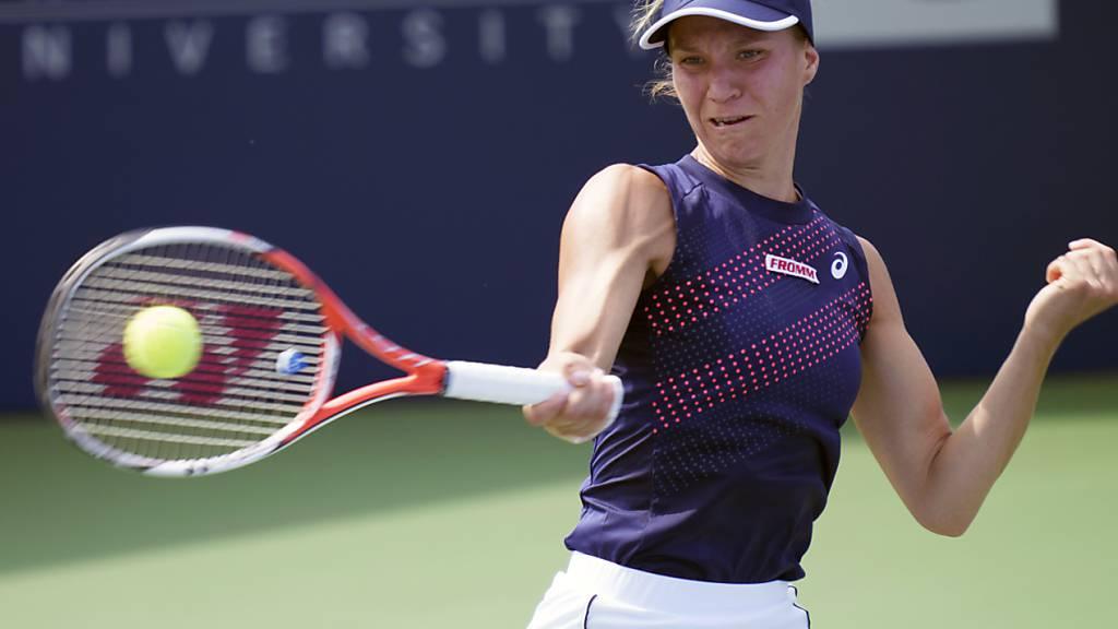 Viktorija Golubic gewinnt auch die Revanche