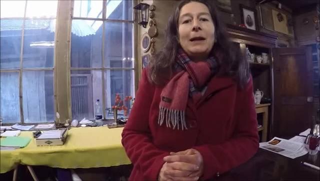 Michèle Glasstetter erzählt von ihrer Kindheit im Petershof.