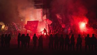 Gespenstische Stimmung im Brügglifeld: Der FC Aarau erhält eine zweite Chance, das Spiel wird wiederholt.