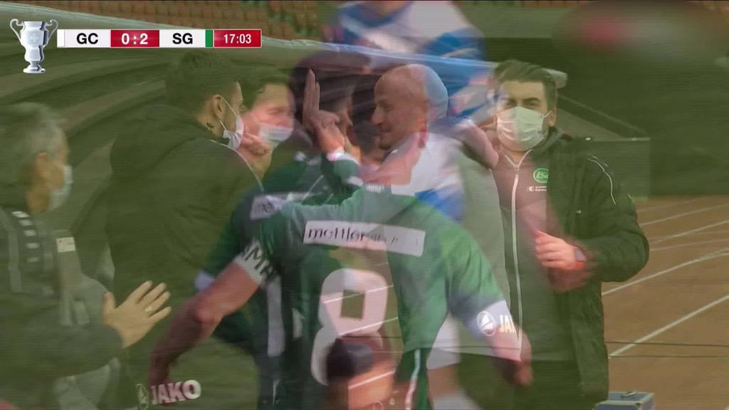 Erstmals nach 6 Jahren: FCSG steht im Cup-Halbfinal