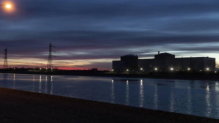 Die Kernenergie-Anlage Fessenheim im Osten Frankreichs, rund 40 Kilometer von der Schweiz Grenze entfernt.