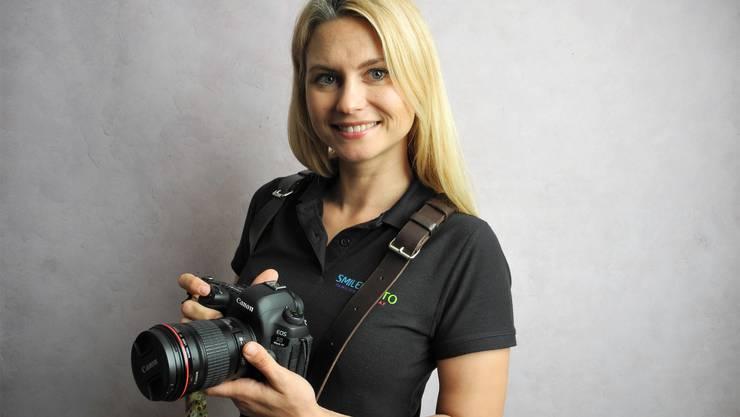 Vlada Olkhovska ist seit 2016 als Fotografin tätig.