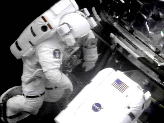 Der Astronaut im All