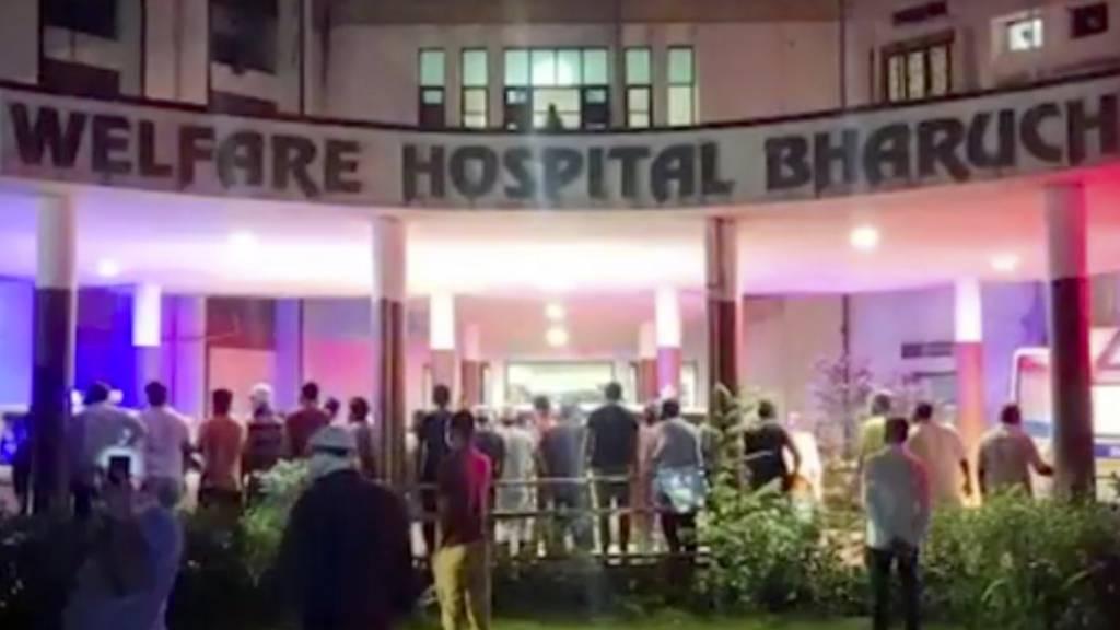Indien: Mindestens 18 Corona-Patienten sterben bei Krankenhausbrand
