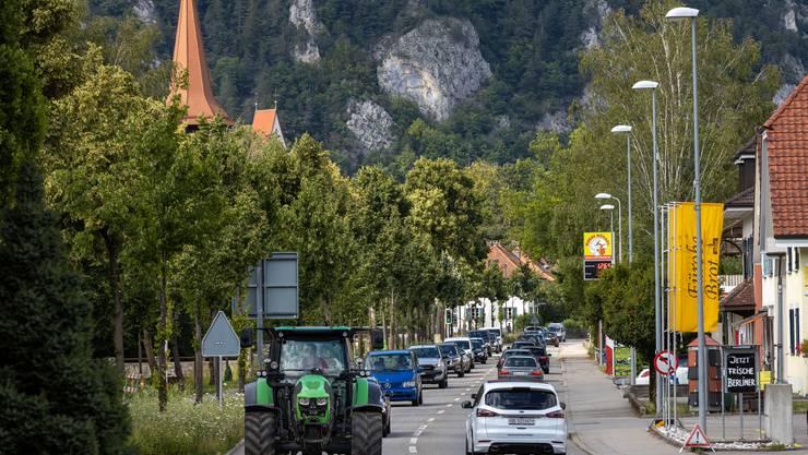 Die Sanierung der Lindenallee in Balsthal wird über ein Jahr dauern. (Archivbild)