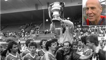 Vor 30 Jahren: Walter Iselin schiesst Aarau zum Cupsieg – der FC Aarau macht mit einem Youtube-Video Stimmung. Heute Abend hat der FCA die Chance, seit zehn Jahren wieder einmal in einen Cup-Halbfinal einzuziehen.