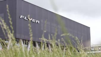 Das Flyer-Elektrofahrrad-Werk der Biketec AG in Huttwil im Kanton Bern.