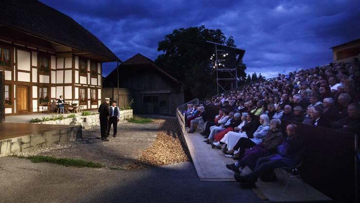 Der Schauplatz der Buechiwäger Freilichtspiele für das Stück «Der Schärer-Micheli»