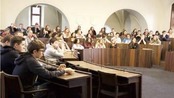 Die «Generation Y» diskutiert mit: Hier am Jugendpolittag 2017 in Solothurn.