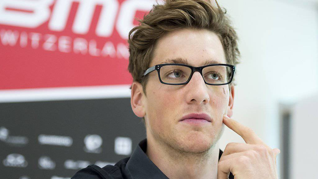 Wird sein Können bald wieder auf der Strasse beweisen können: BMC-Profi Stefan Küng (22) hat das Pfeiffersche Drüsenfieber überwunden und steht nächste Woche in Belgien wieder am Start