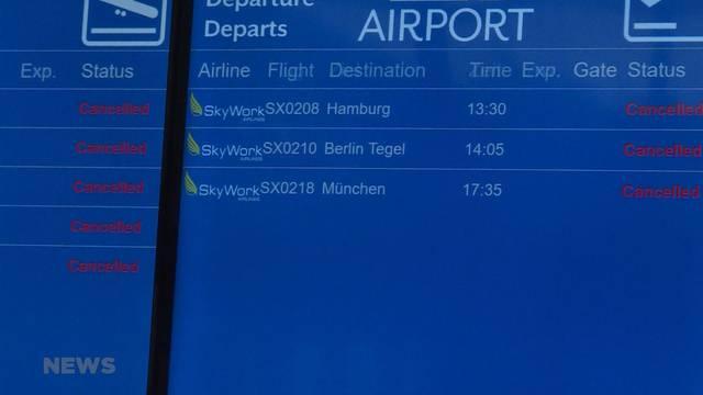 Fehlende Unterstützung für die Fluggesellschaft?
