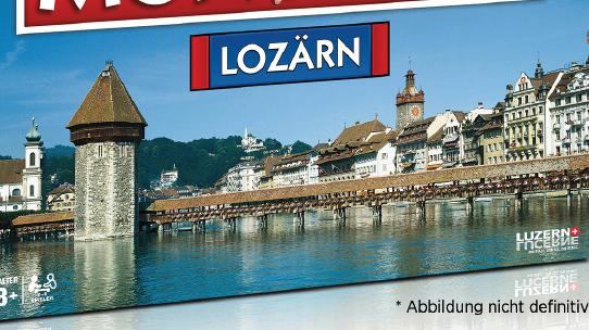 Neuauflage Monopoly Lozärn - jetzt seid ihr gefragt!