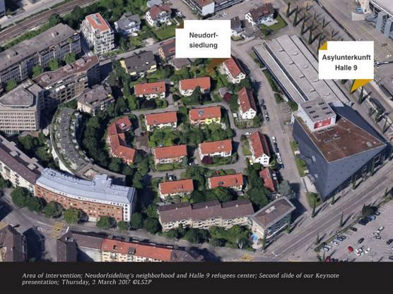 In acht Schritten haben Quartier- und Halle-9-Bewohner ihren Garten konzipiert.