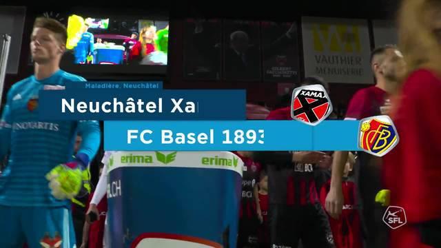Xamax-FCB Matchhighlights